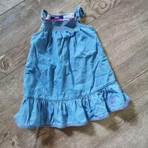 2/$15 Mexx Jean sun dress 12-18 M